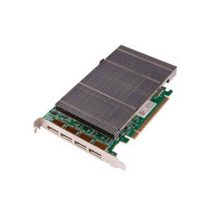 ImageDP4+/DVI : 4 port Displayport graphics card w/DVI adapters win10