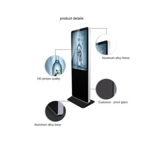 MWE821 Stand Alone LCD Display (Thick)